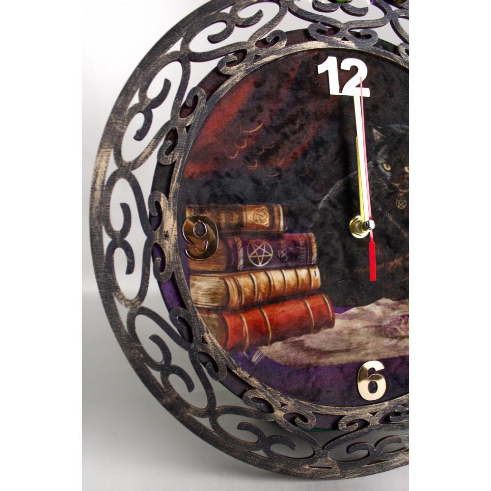 Ч001 Часы настенные Ведьмин кот