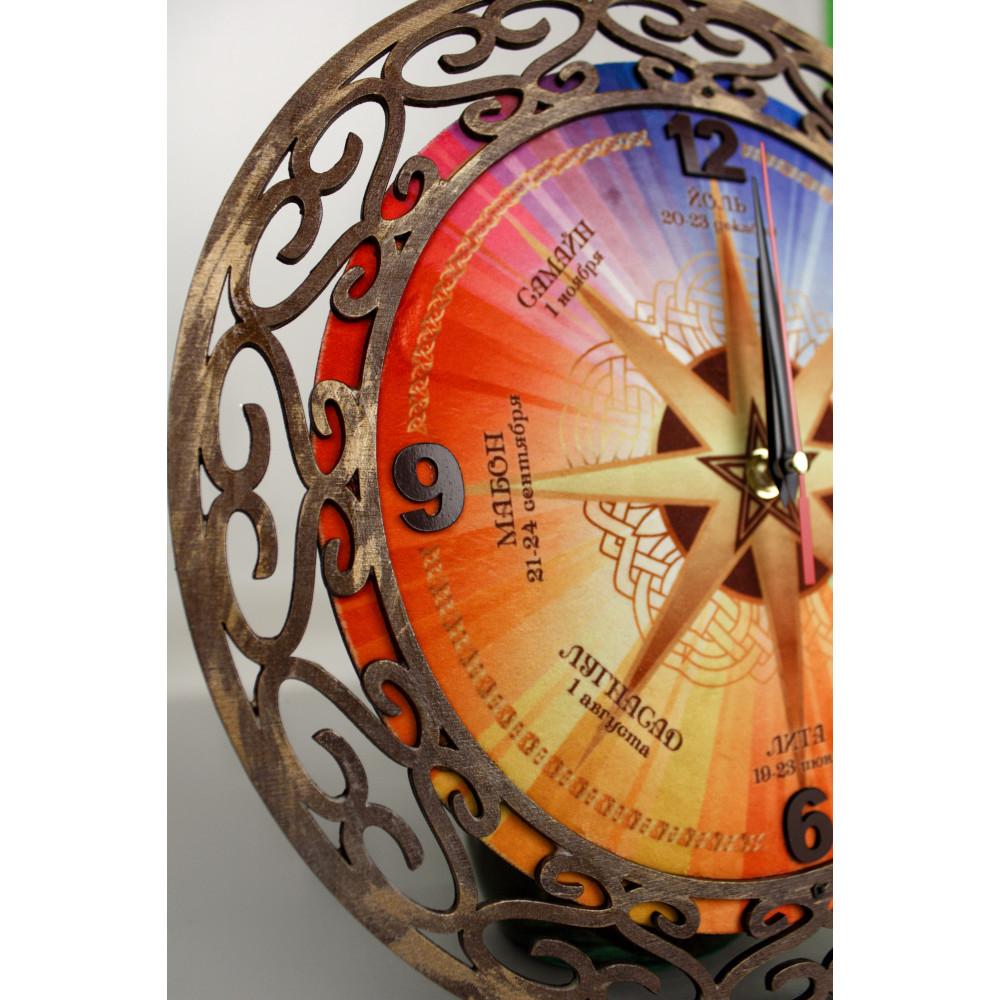 Ч001 Часы настенные Колесо года
