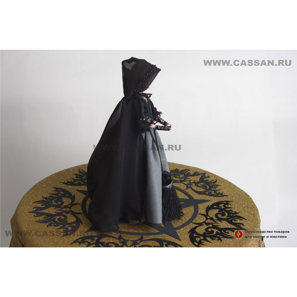 Интерьерная кукла Ведьмочка