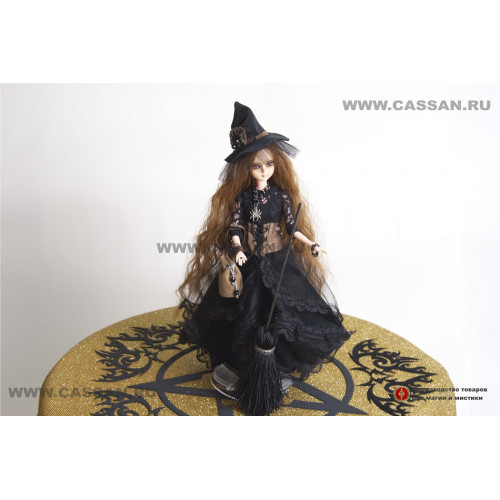 Интерьерная кукла Маленькая колдунья