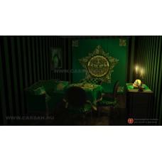 Магический интерьер в зеленом