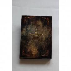 """Книга теней """"Рунический круг"""" Пентакль К0452, мягкий бархат"""